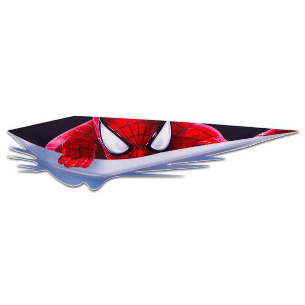티몰 3D입체 차량용 스포츠 패션 스티커 로고 베이비 C. C12. 로고모음02(반사), A05. 스파이더맨(반사지), 1개