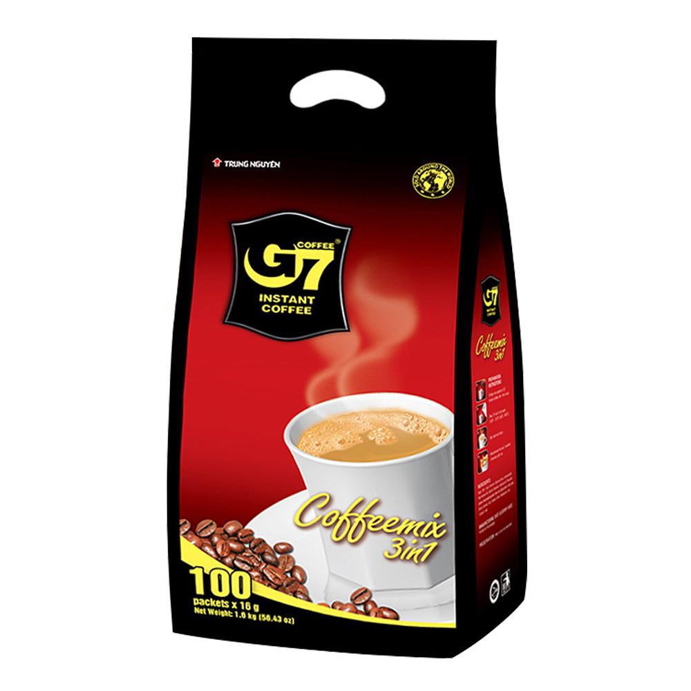 G7 3in1 커피믹스, 16g, 100개