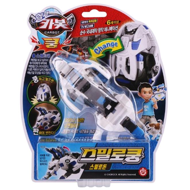 헬로카봇 스밀로쿵 스밀로돈 로봇장난감, 혼합 색상