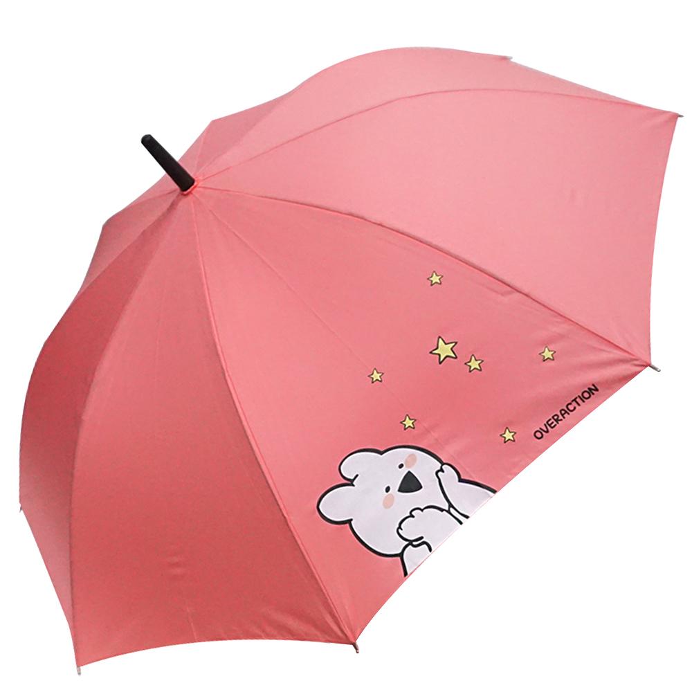 오버액션토끼 반짝반짝 장우산 HUGWU10001