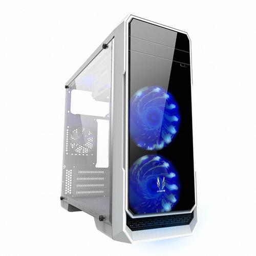 3RSYS 풀 아크릴 윈도우 PC케이스 R360, R360(화이트), 화이트