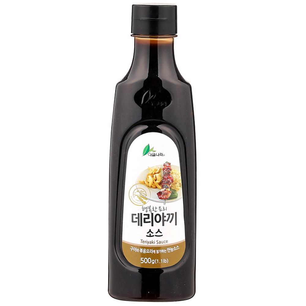 이슬나라 데리야끼 소스, 500g, 1개