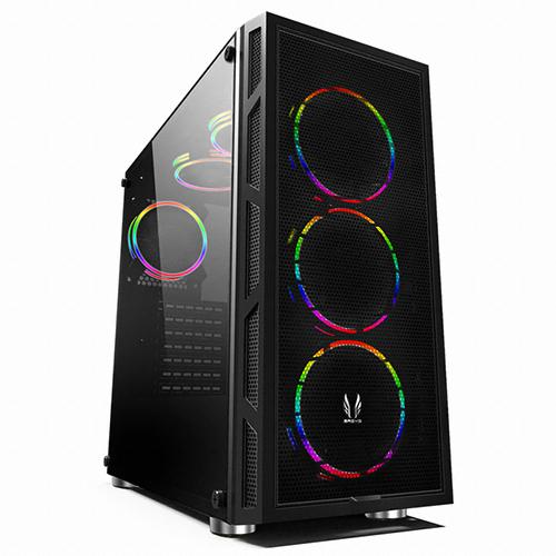 쓰리알시스템 RGB PC케이스 미들타워 J700CP