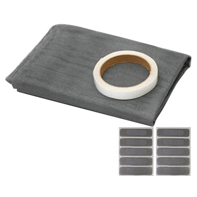 바로 방충망 시트 특대형 + 특수 양면테이프 + 물구멍 방충망 10p, 1세트