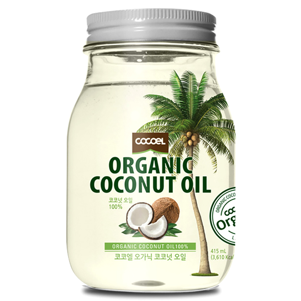 코코엘 오가닉 코코넛오일, 415ml, 1개