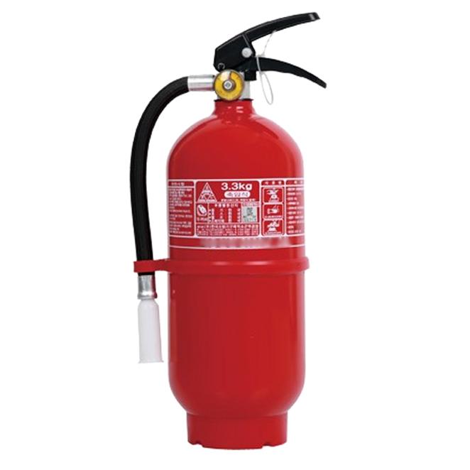 한국소방기구제작소 수동식 ABC분말 소화기 3.3kg 빨간색  1개레스포 탑포스 SF 21단 66.04cm 자전거 + 무료 조