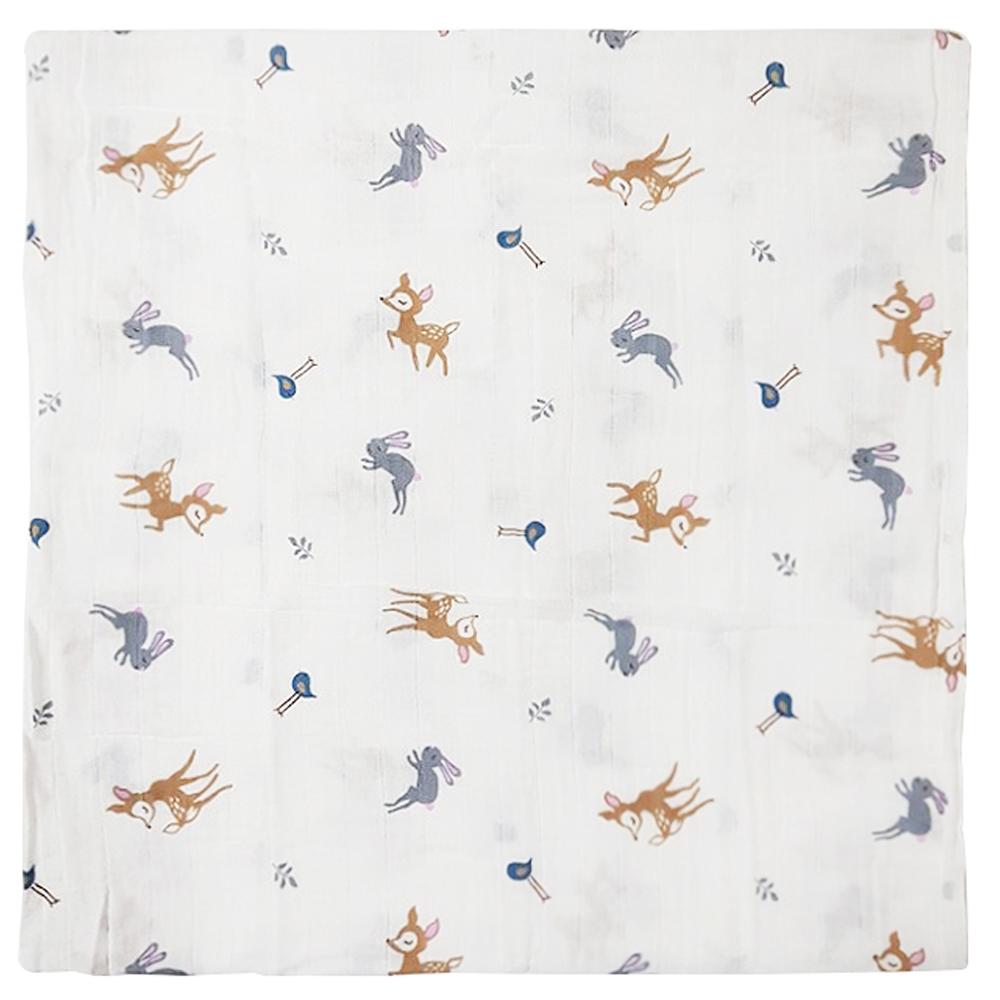 하늬통상 신생아용 머슬린 스와들 속싸개, 아기사슴밤비