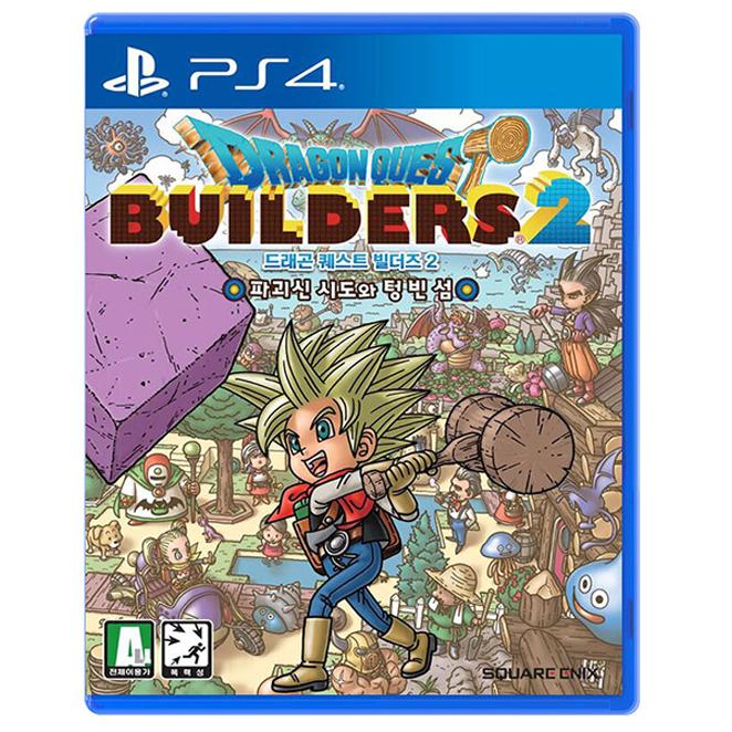 소니 PS4 드래곤퀘스트 빌더즈 2 한글판