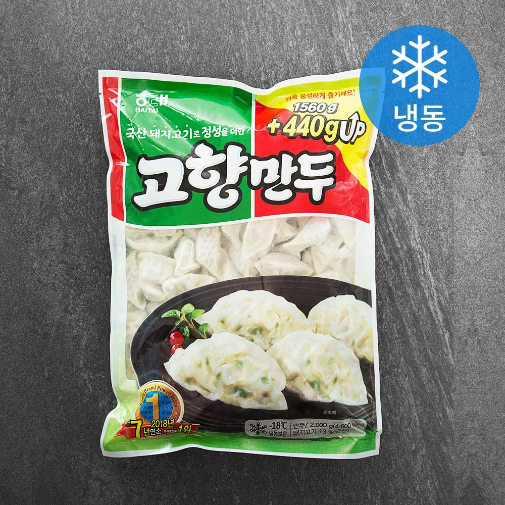해태 고향만두 (냉동), 2kg, 1개