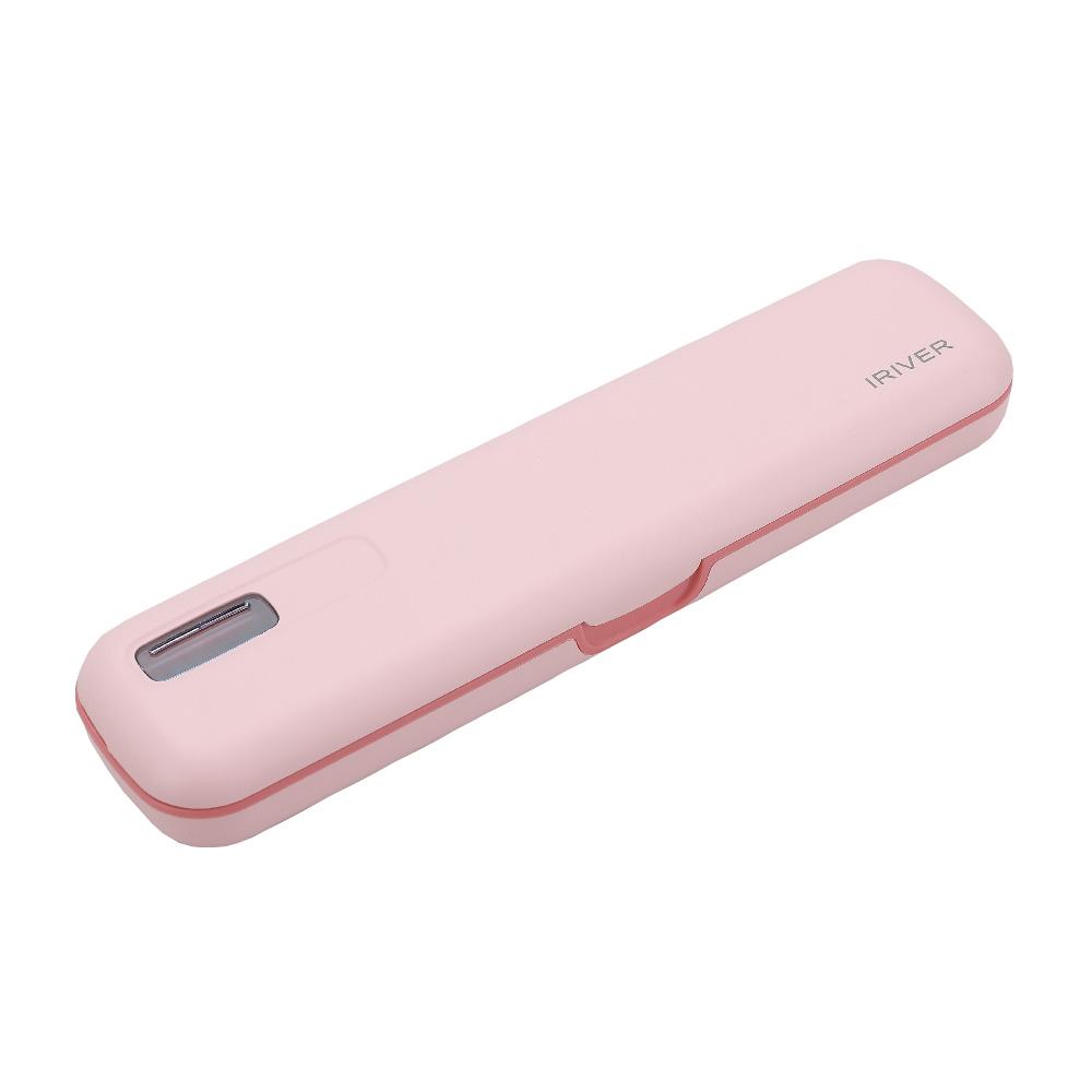 아이리버 휴대용 칫솔살균기, TBS-100 S2, 핑크