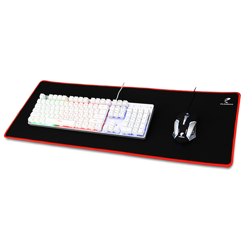 플레오맥스 게이밍 키보드 + 마우스 + 장패드 세트, COC-G3, 혼합 색상