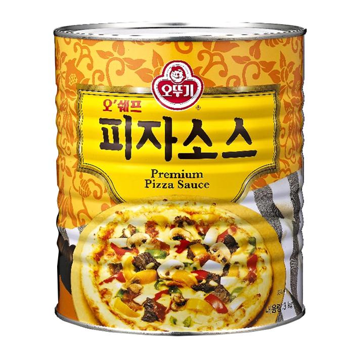 오뚜기 오쉐프 피자소스, 3kg, 1개