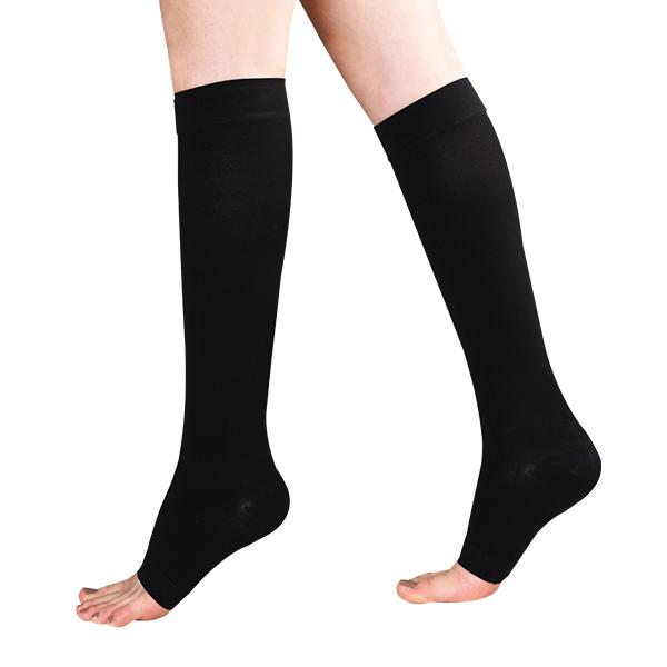 원더워크 의료용압박스타킹 무릎형/발트임 검정색, M, 1개