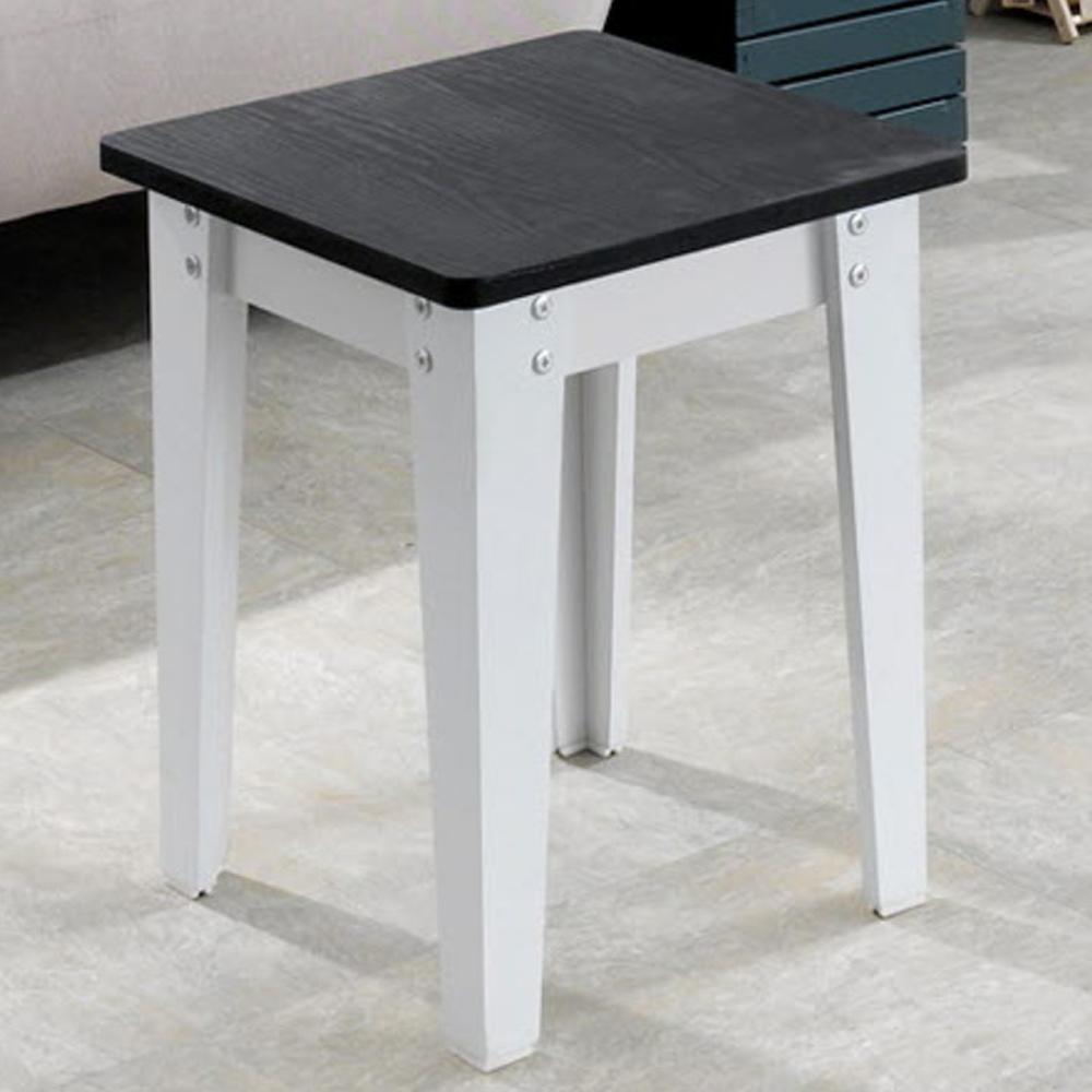 제우스가구 DIY 1인용 의자, 블랙