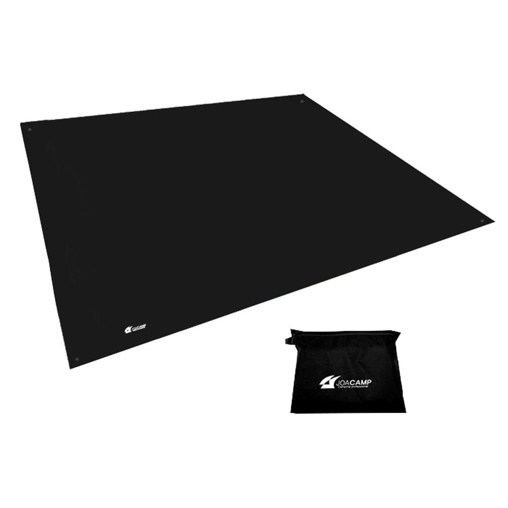 조아캠프 방수매트 300 + 수납가방, 블랙