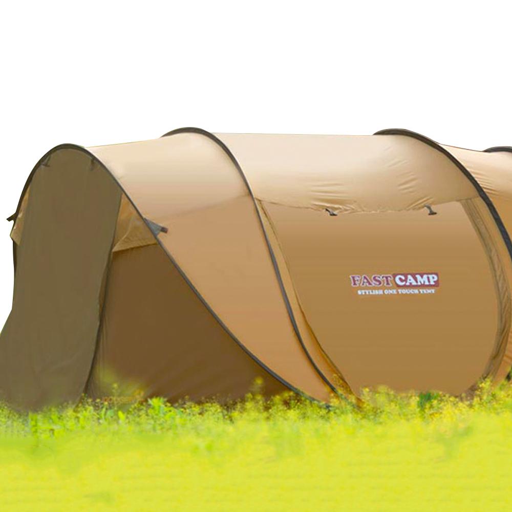 패스트캠프 슈퍼빅5 원터치 텐트, 브라운