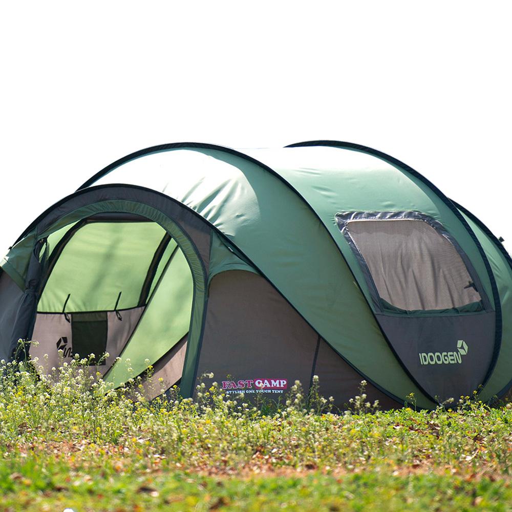 패스트캠프 오페라 스위트 원터치 텐트, 올리브그린, 5인용