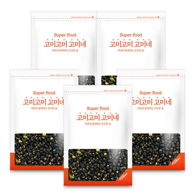 고미네 볶은 검은콩, 150g, 5개입