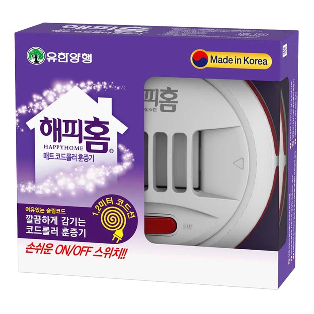 해피홈 new 매트 코드 롤러 훈증기, 1개