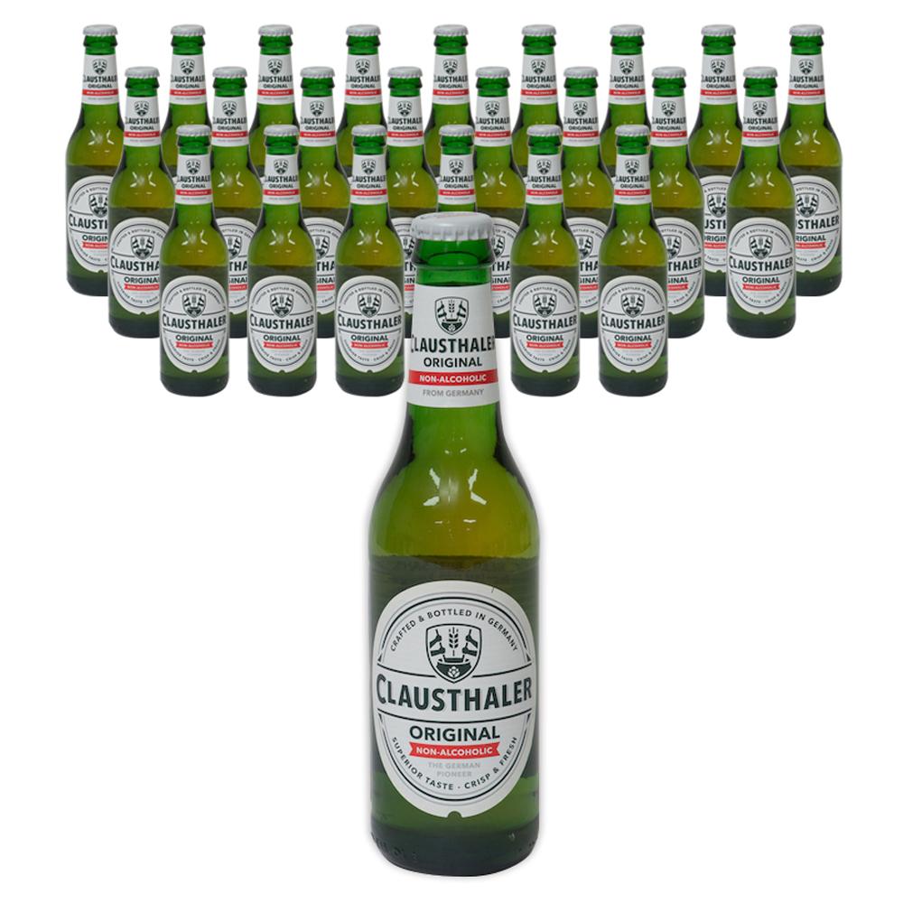 클라우스탈러 오리지날 무알콜 맥주, 330ml, 24개입