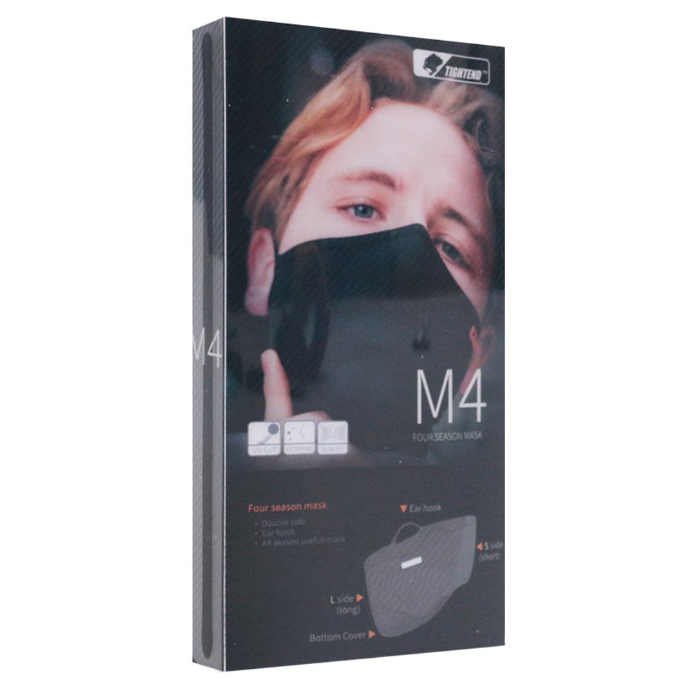 타이트엔드 M4 스포츠 마스크, Black