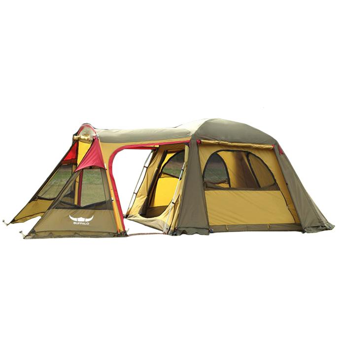 버팔로 리빙쉘 와이드 빅돔 텐트, 혼합 색상, 7인
