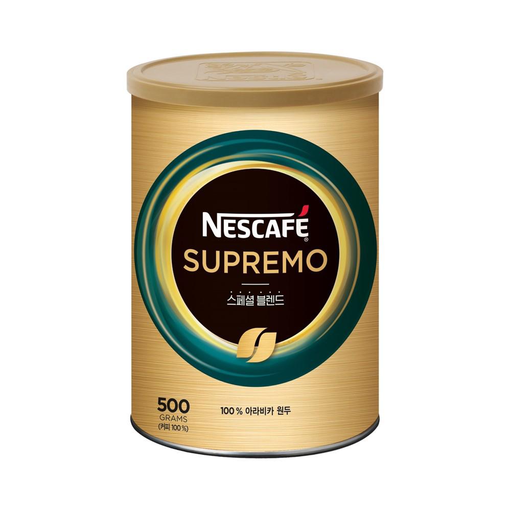 네스카페 수프리모 스페셜 블렌드 브라질 원두커피믹스, 500g, 1개