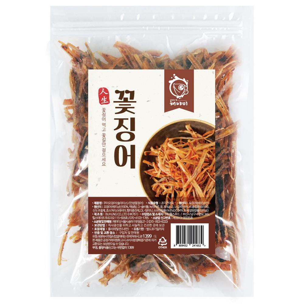 해야미 꽃징어 조미건어포, 300g, 1개