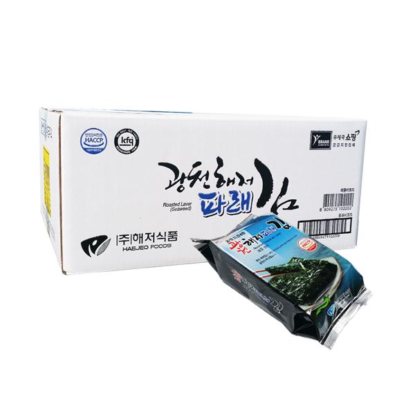 광천해저김 파래 식탁 김, 15g, 30개