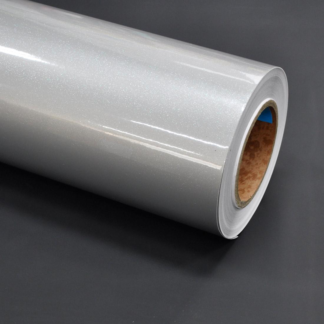 현대인테리어필름 고광택시트지, 실버 펄(HG-978)