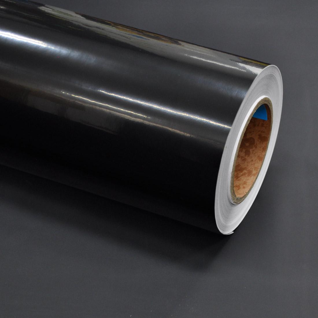 현대인테리어필름 고광택시트지, 블랙(HG-992)
