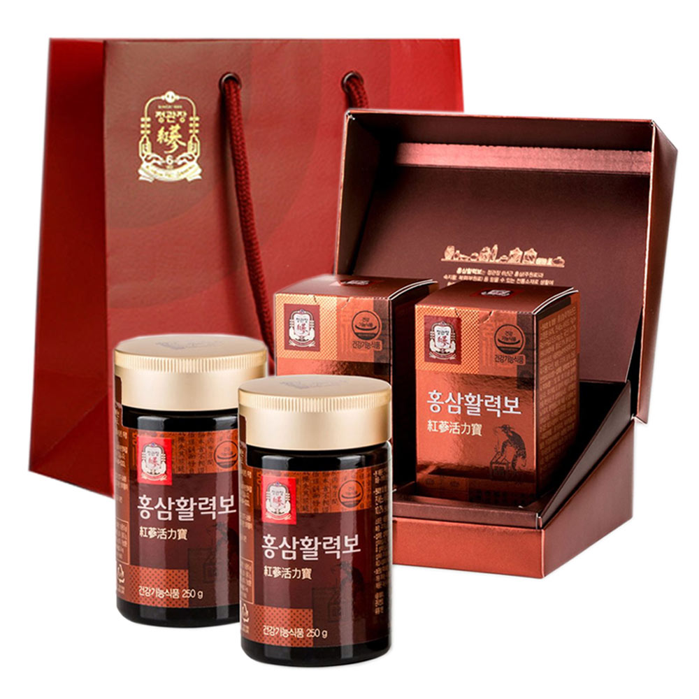 정관장 홍삼활력보, 250g, 2개입