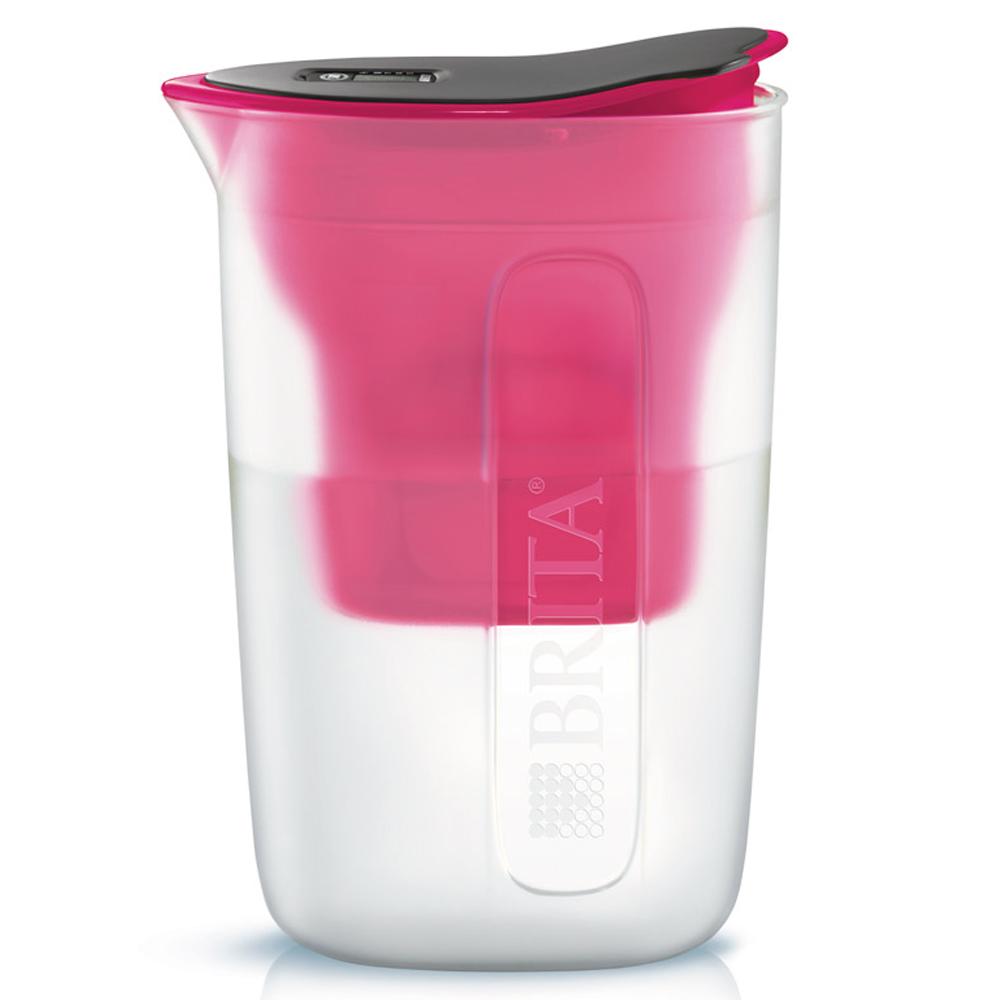브리타 펀 막스트라 플러스 정수기 핑크 1.5L+한국형 필터 1개, 단일 상품