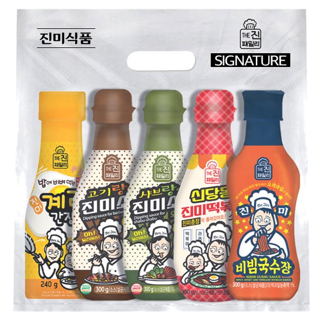 진미 진패밀리 시그니처 소스 1호 세트, 1세트