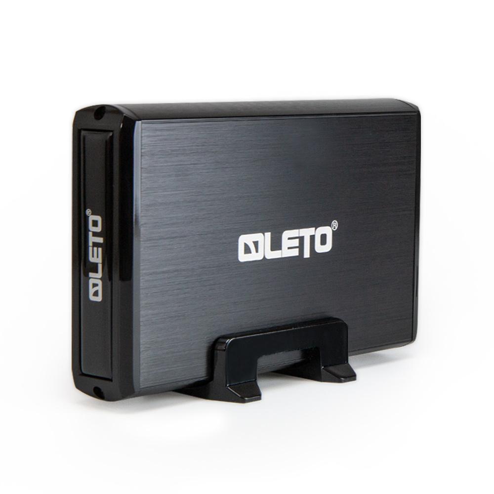 레토 3.5형 울트라 콤팩트 외장하드 J3SU3.0, 3TB, 블랙
