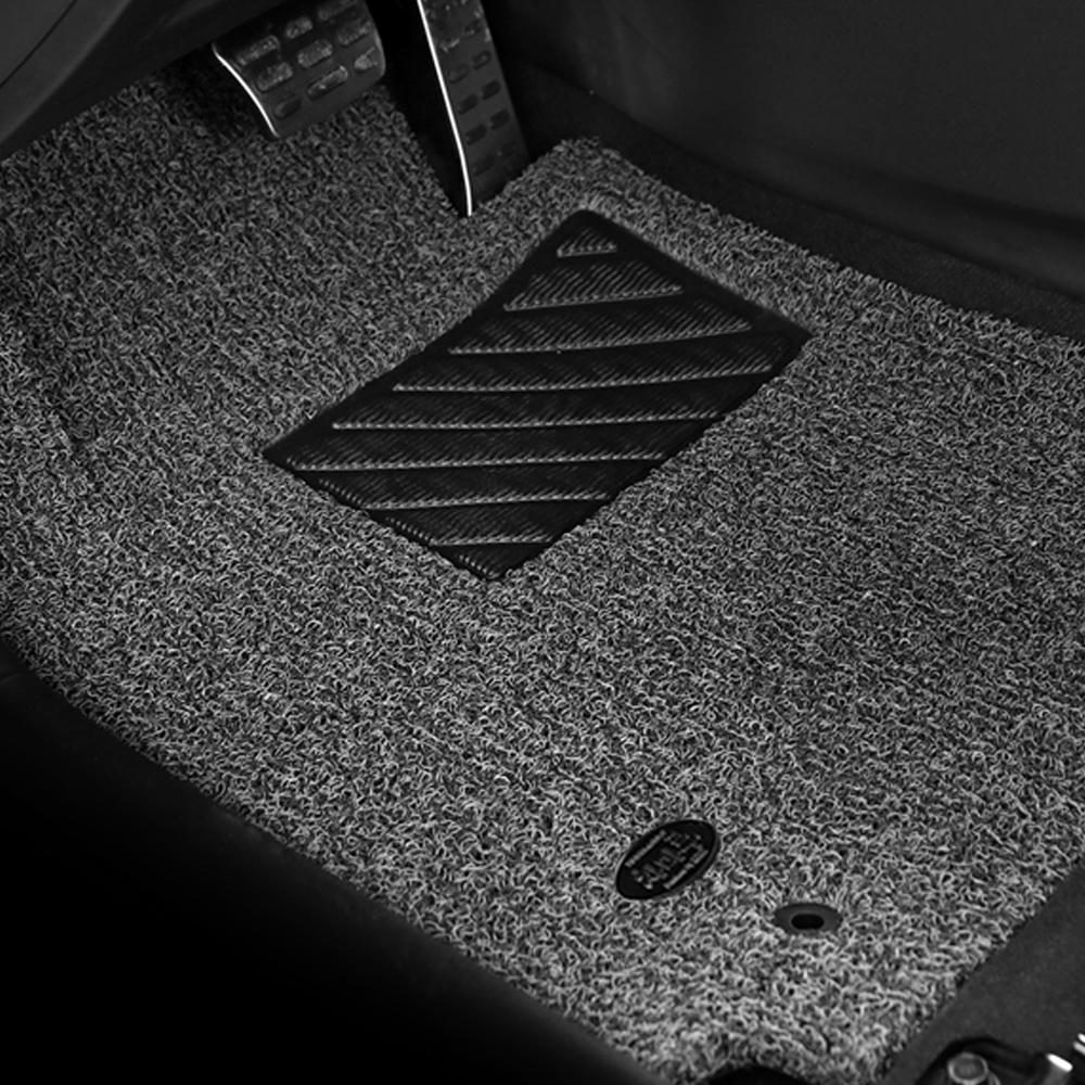 차마루 확장형 코일매트 1열 + 2열 세트 그레이 현대, i30-1 (07년7월~11년)