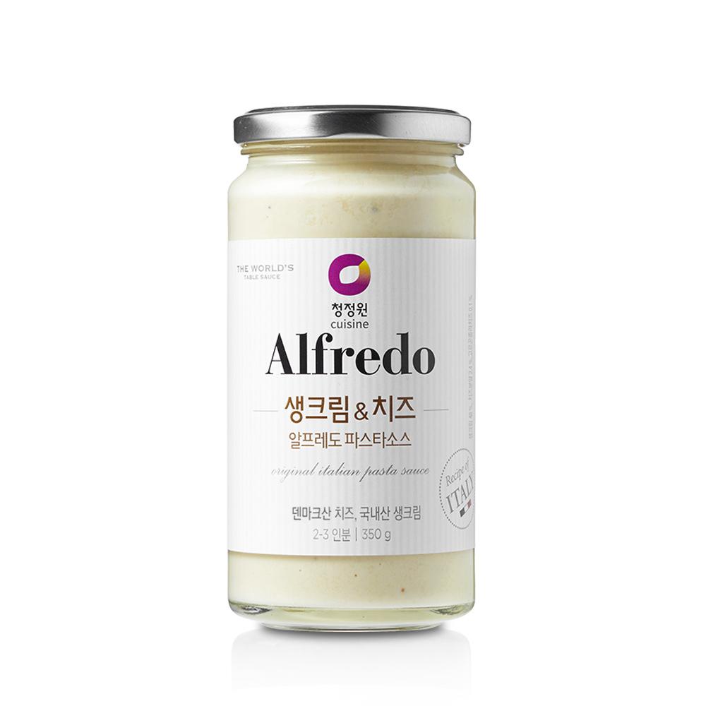 청정원 알프레도 생크림&치즈 파스타소스, 350g, 1개