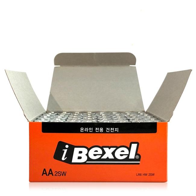 벡셀 알카라인 AA건전지 벌크, 48개입, 1박스