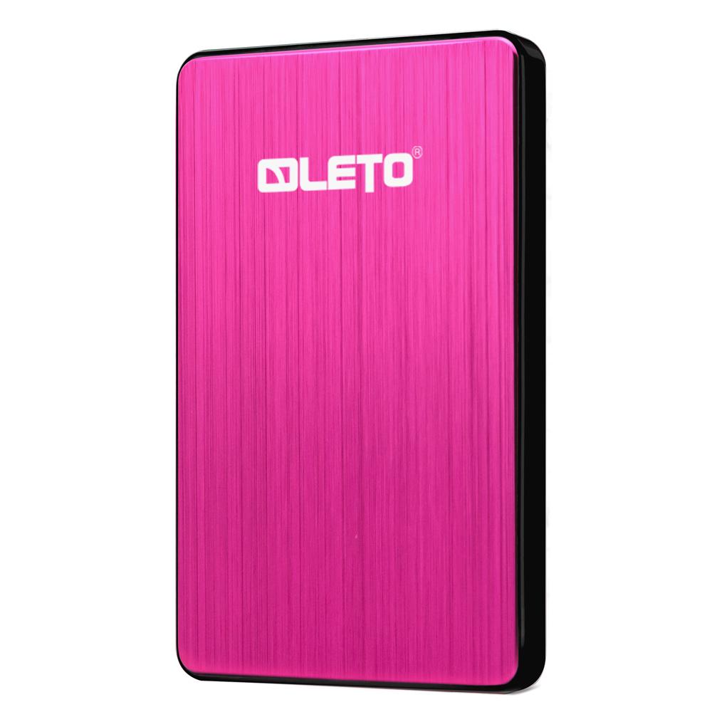 레토 슬림 외장하드 L2SU3.0, 3TB, 레드