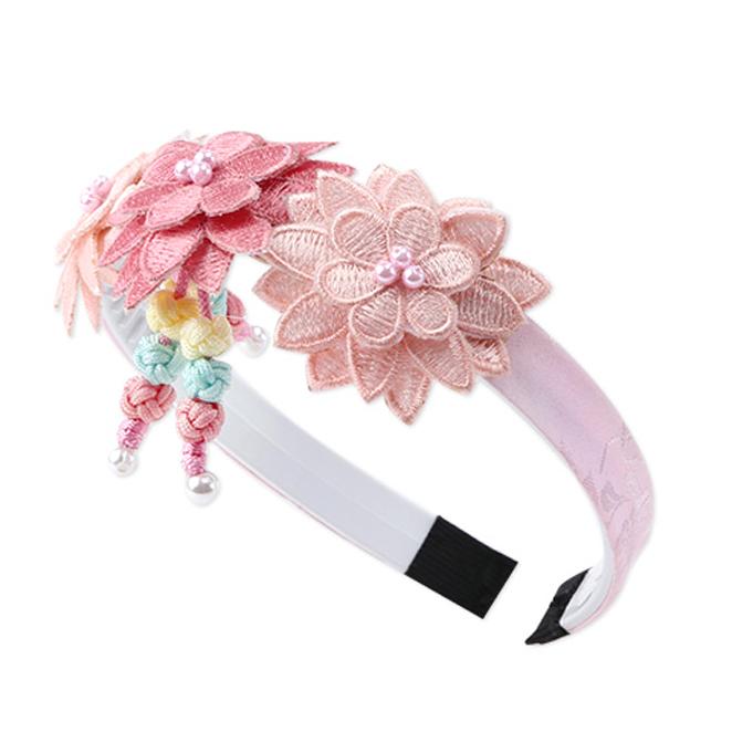 예닮 예양꽃 한복머리띠