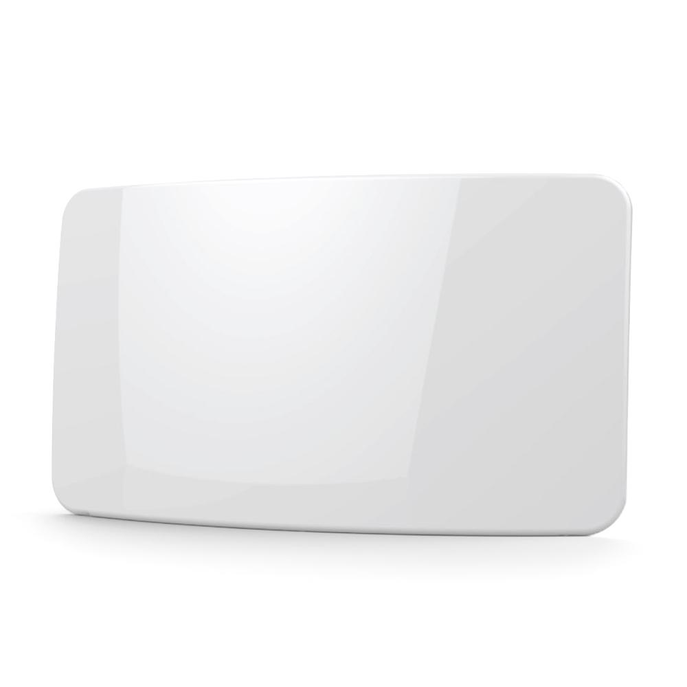 컴스마트 디지털TV 안테나 수신기 커브드타입 흰색, GK463