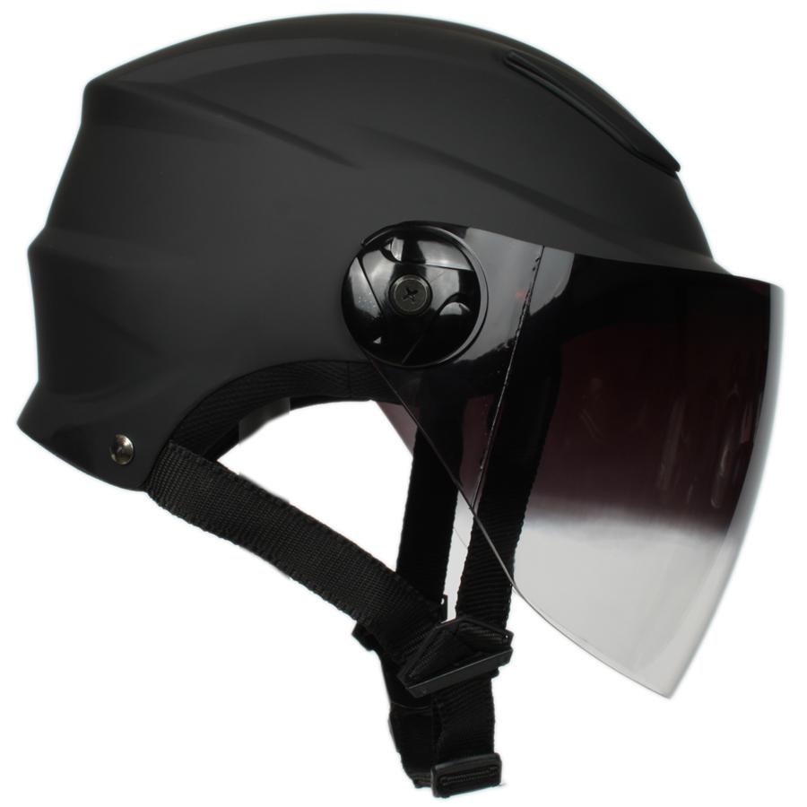 아우라 JX-1S 오토바이헬멧, 무광블랙