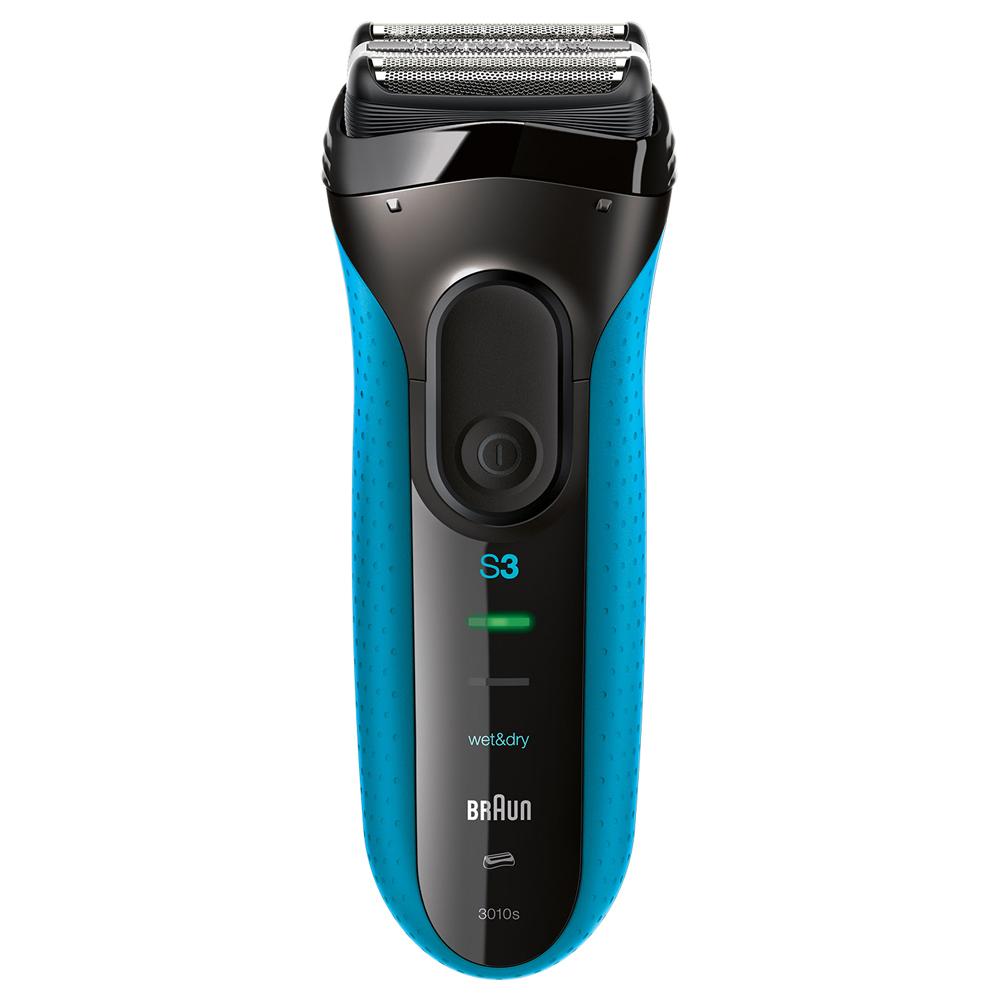 BRAUN 시리즈3 전기 면도기, 3010s, 블루