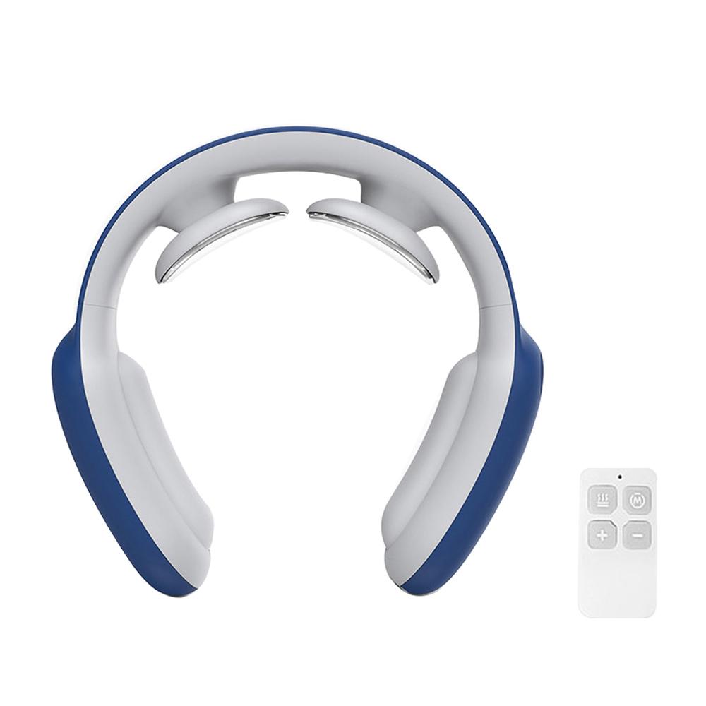 코드나인 휴밍 미니 저주파 USB 충전 목안마기 + 리모컨, D12A(네이비)