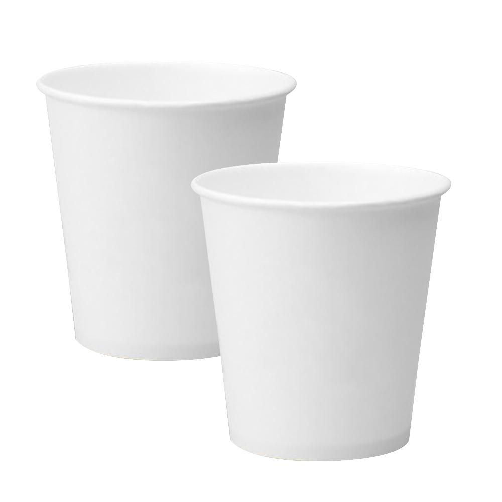 더좋은컵 무인쇄 위생 일회용 종이컵, 50개입, 10개