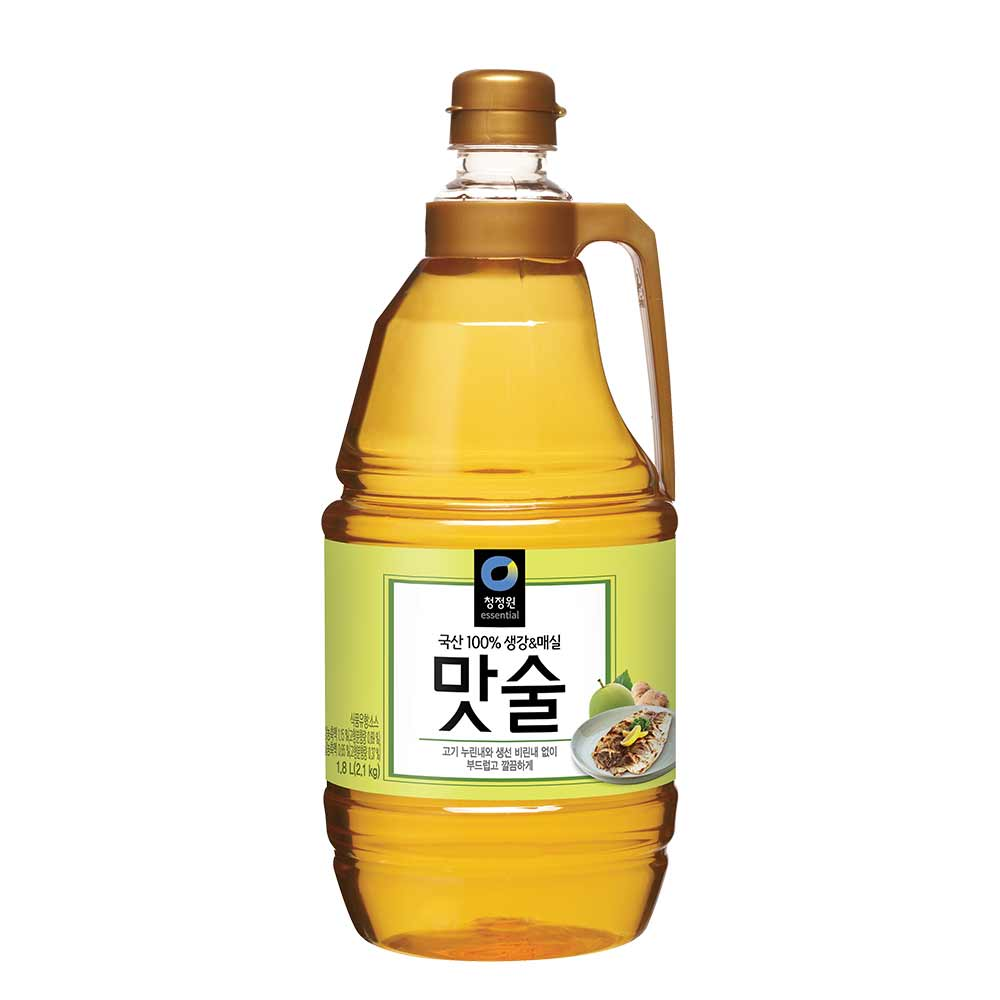 청정원 생강&매실 맛술, 1.8L, 1개
