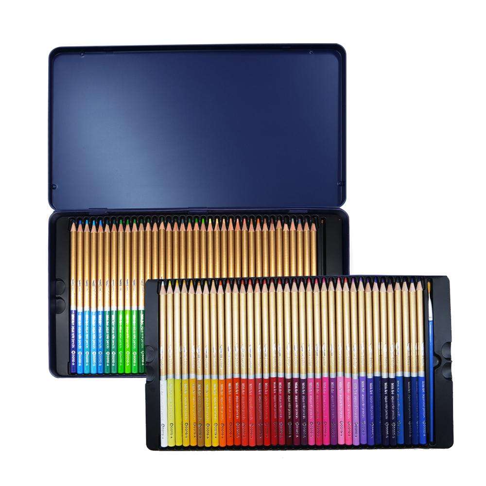 아트 수채색연필 틴케이스, 72색