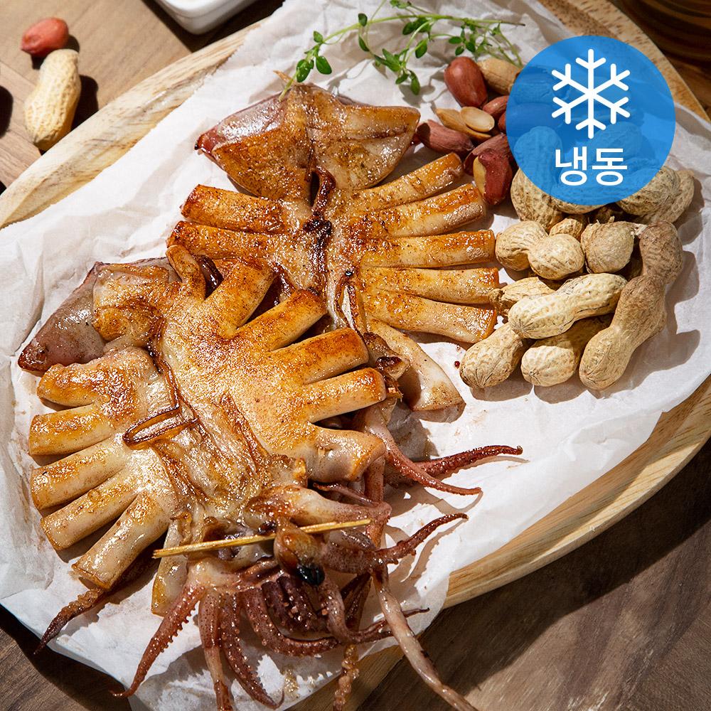 포항시 인증 구룡포 반건 오징어 10미 (냉동), 600g, 1개