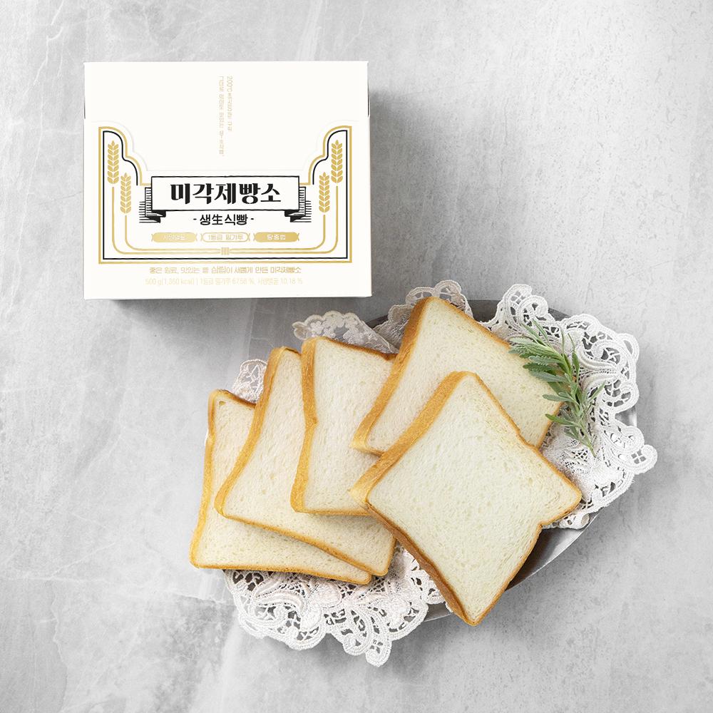 미각제빵소 프리미엄 생식빵, 500g, 1개