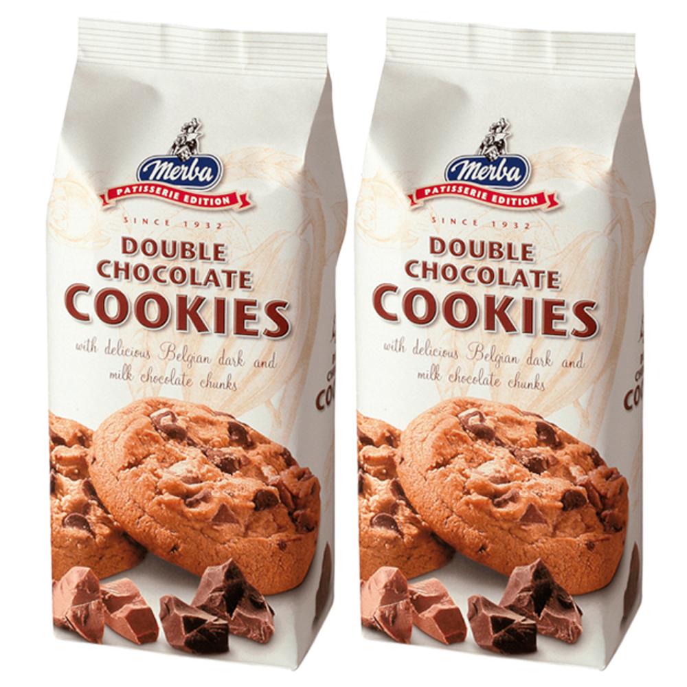 메르바 더블 초콜릿 쿠키, 200g, 1개
